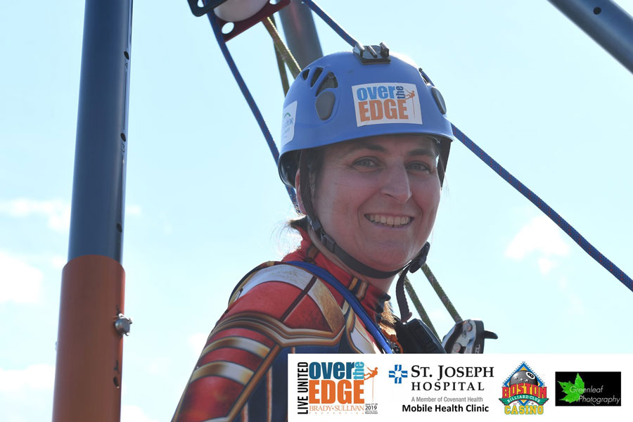 Dr. Johanna Over The Edge 2019