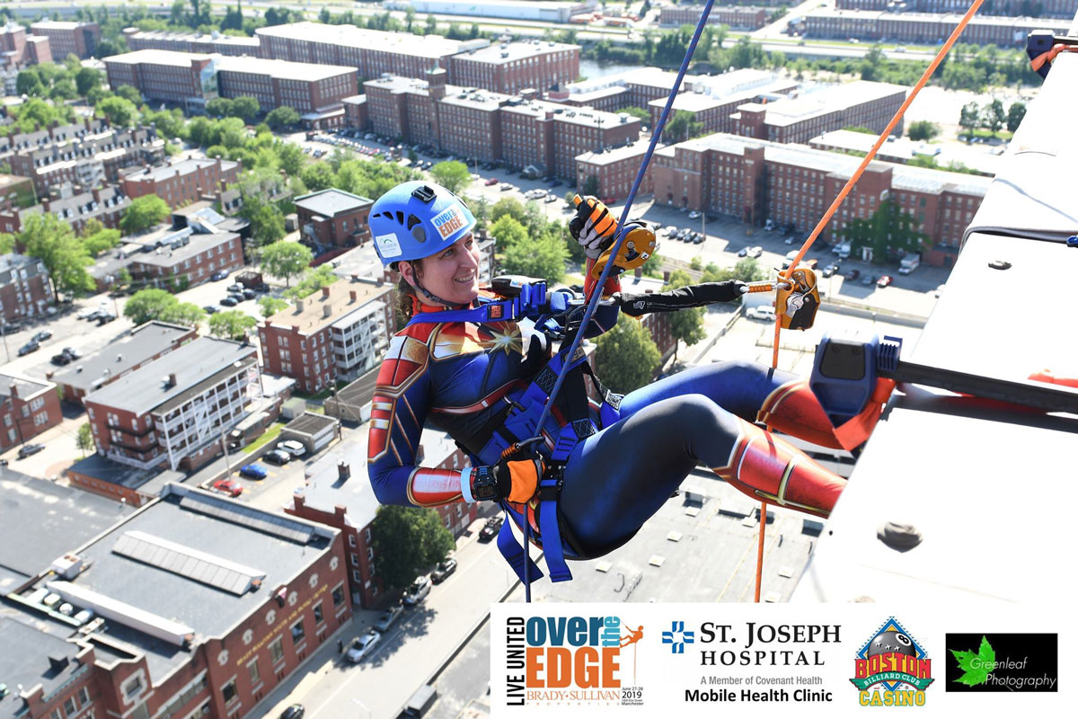 Dr. Johanna goes Over The Edge for the Youth Council 2019 Experience